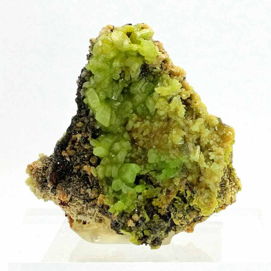 Pyromorphite-Daoping Mine , Gongcheng, Guilin, Guangxi Zhuang, China